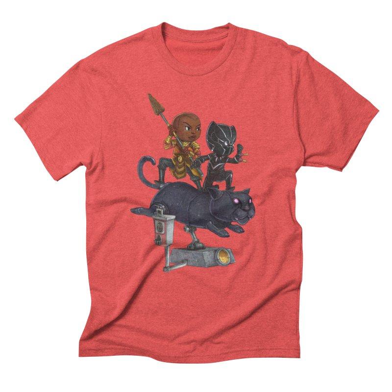 Sneak Attack Men's Triblend T-Shirt by Patrick Ballesteros