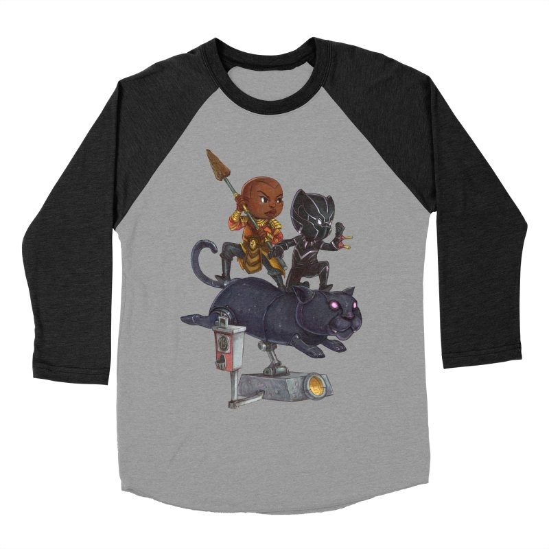 Sneak Attack Women's Baseball Triblend Longsleeve T-Shirt by Patrick Ballesteros Art Shop