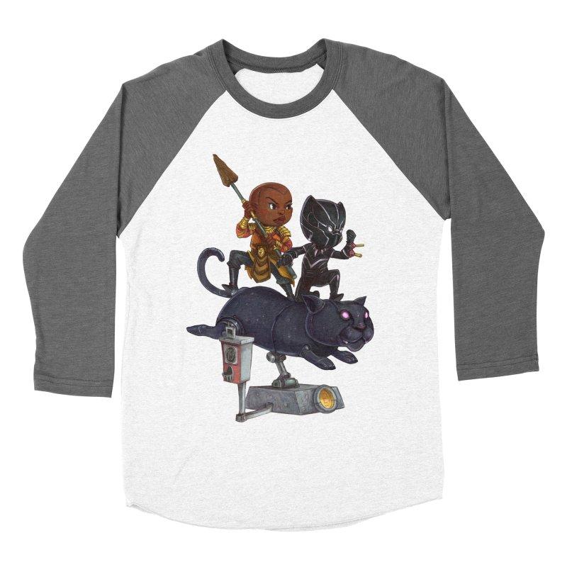 Sneak Attack Men's Baseball Triblend Longsleeve T-Shirt by Patrick Ballesteros Art Shop
