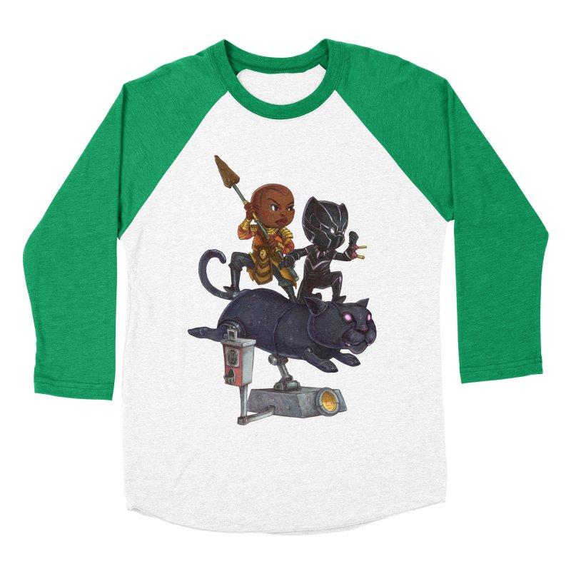Sneak Attack Men's Baseball Triblend T-Shirt by Patrick Ballesteros Art Shop