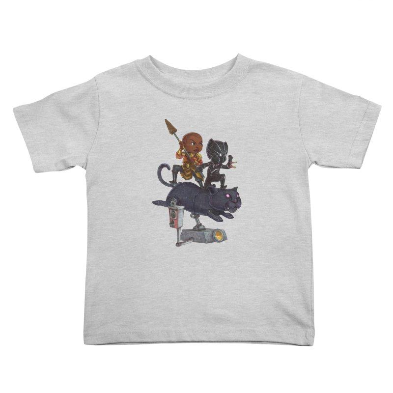 Sneak Attack Kids Toddler T-Shirt by Patrick Ballesteros Art Shop