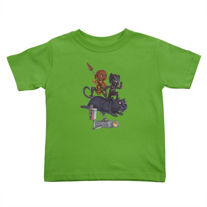 Sneak Attack Kids Toddler T-Shirt by Patrick Ballesteros