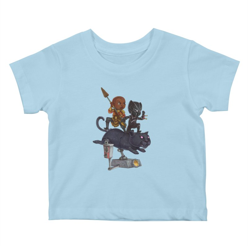 Sneak Attack Kids Baby T-Shirt by Patrick Ballesteros Art Shop