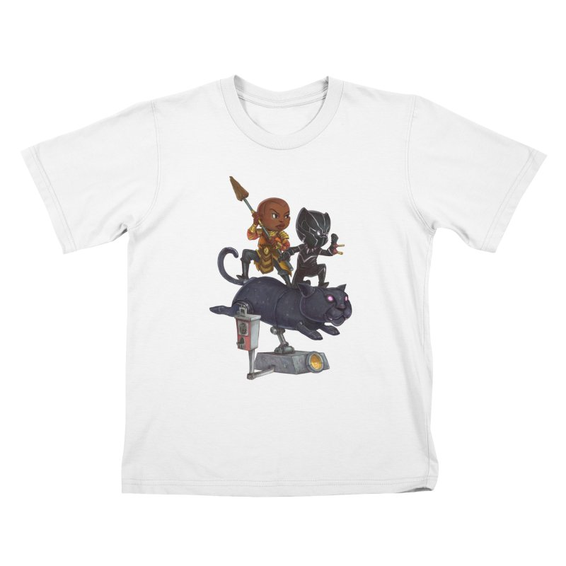 Sneak Attack Kids T-Shirt by Patrick Ballesteros Art Shop