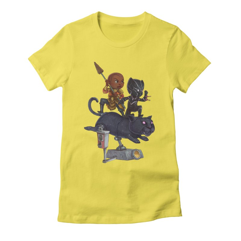 Sneak Attack Women's T-Shirt by Patrick Ballesteros