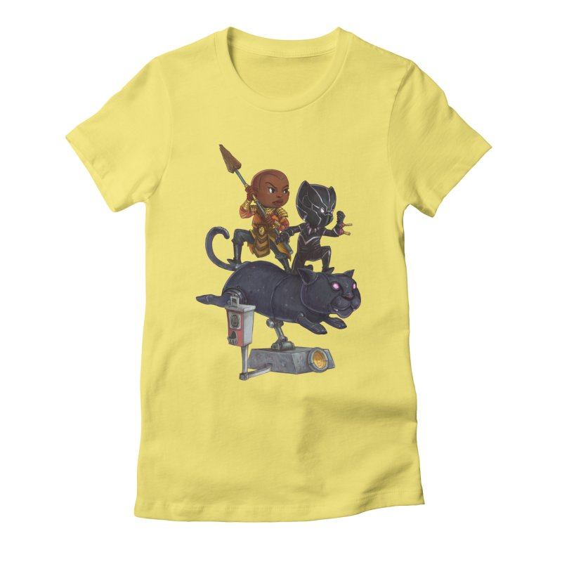 Sneak Attack Women's Fitted T-Shirt by Patrick Ballesteros Art Shop