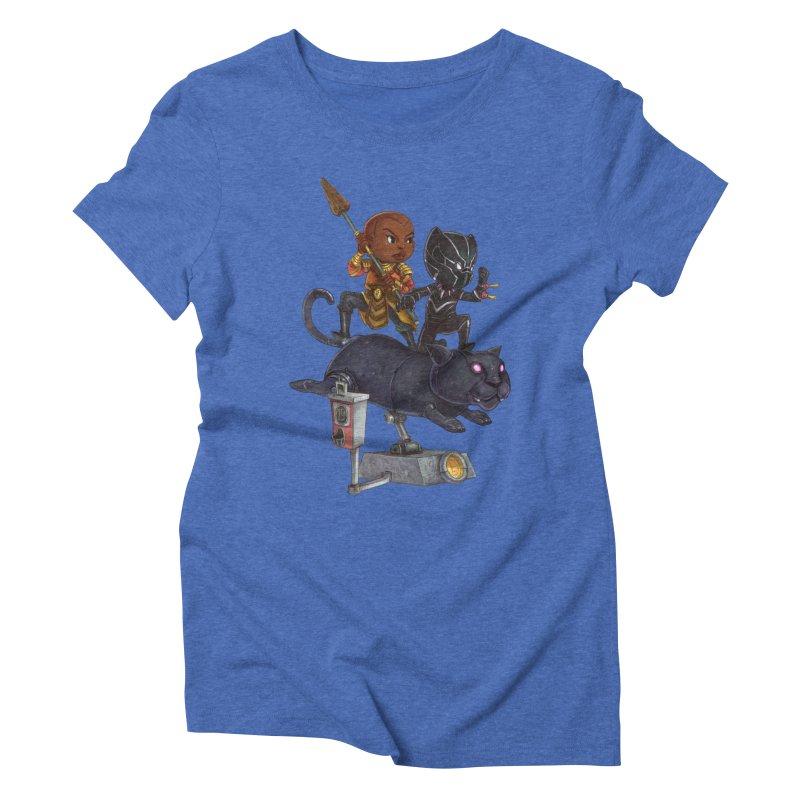 Sneak Attack Women's Triblend T-Shirt by Patrick Ballesteros Art Shop
