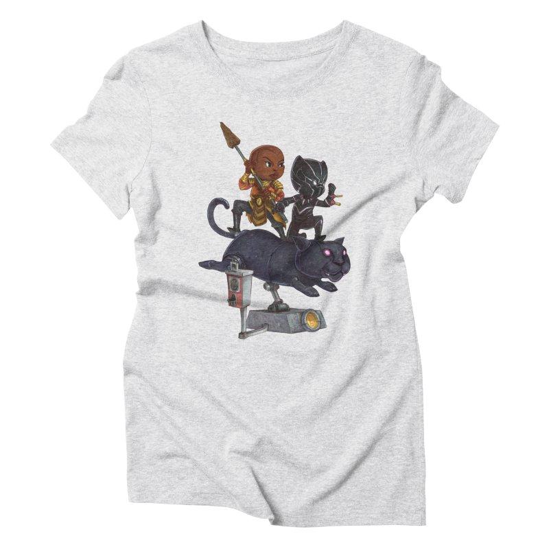 Sneak Attack Women's Triblend T-Shirt by Patrick Ballesteros