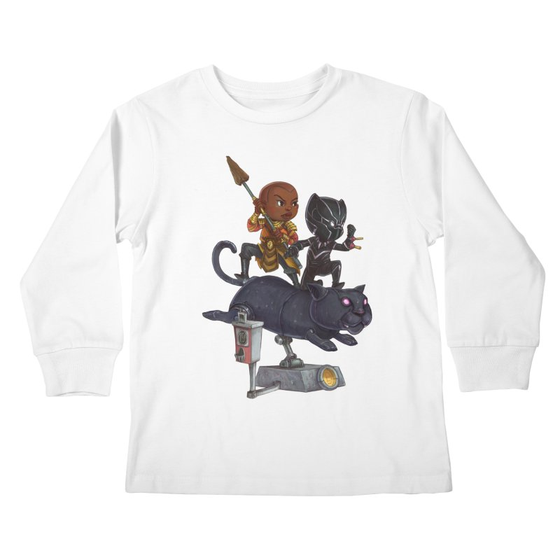 Sneak Attack Kids Longsleeve T-Shirt by Patrick Ballesteros Art Shop