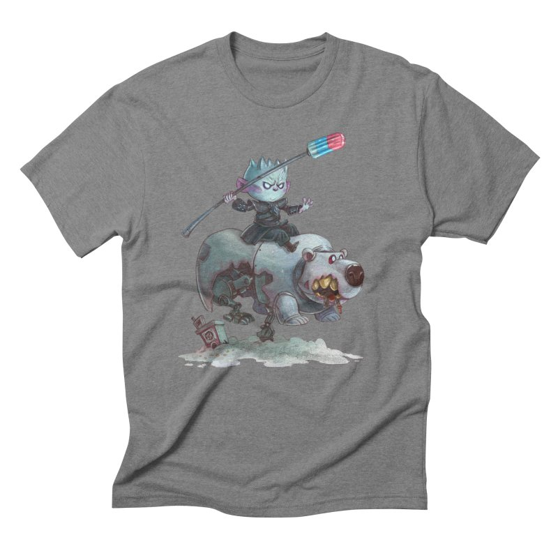 THE REAL DARK KNIGHT Men's Triblend T-Shirt by Patrick Ballesteros