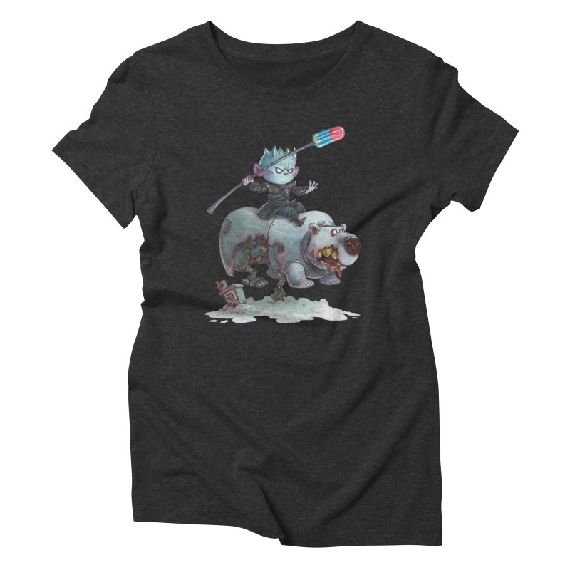 THE REAL DARK KNIGHT Women's Triblend T-Shirt by Patrick Ballesteros