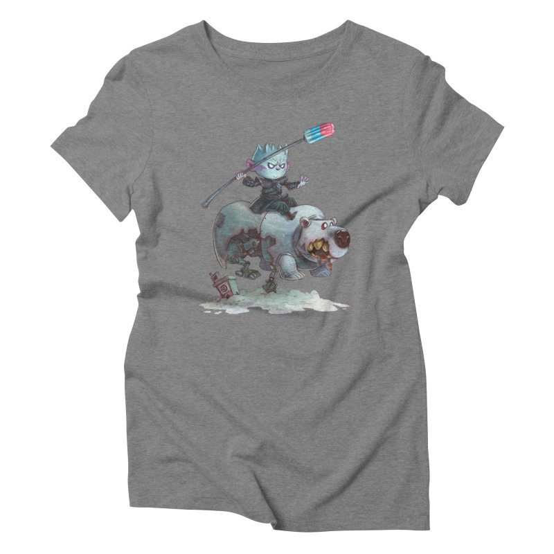 THE REAL DARK KNIGHT Women's Triblend T-Shirt by Patrick Ballesteros Art Shop