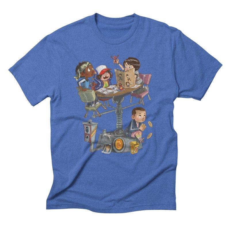 Stranger Danger Men's T-Shirt by Patrick Ballesteros
