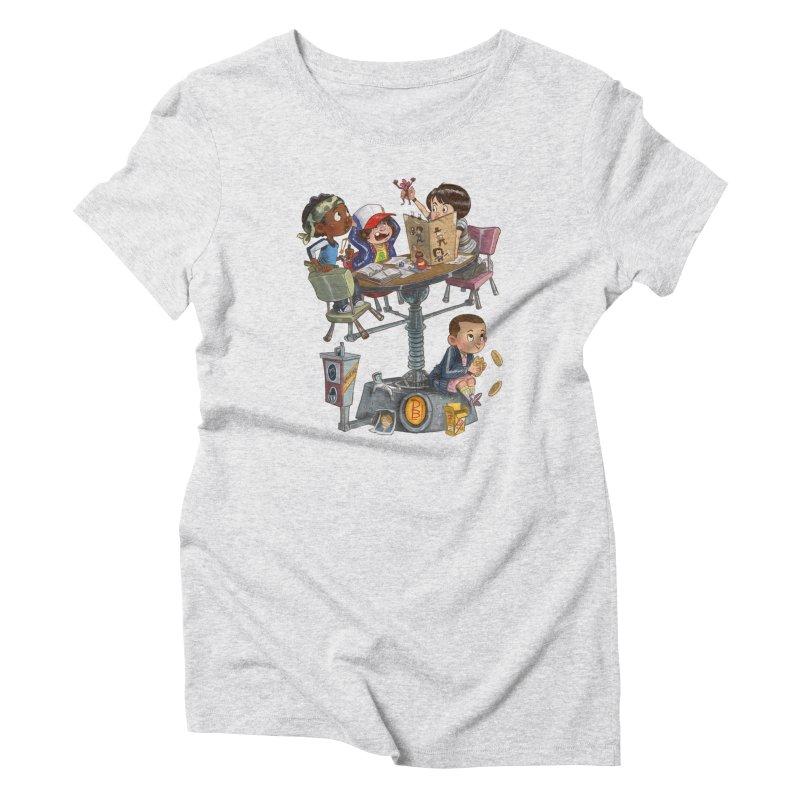Stranger Danger Women's T-Shirt by Patrick Ballesteros