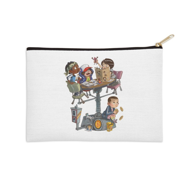 Stranger Danger Accessories Zip Pouch by Patrick Ballesteros Art Shop