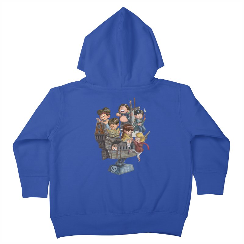 Hey You Guys Kids Toddler Zip-Up Hoody by Patrick Ballesteros Art Shop