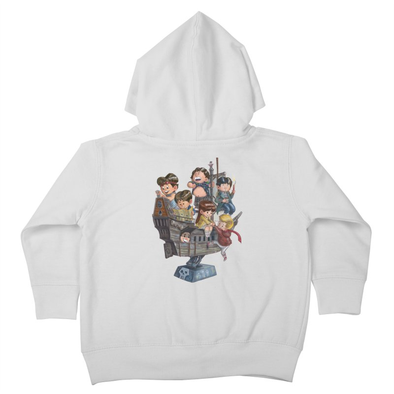 Hey You Guys Kids Toddler Zip-Up Hoody by Patrick Ballesteros