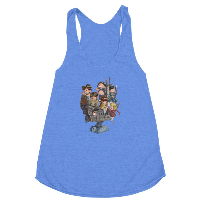 Hey You Guys Women's Racerback Triblend Tank by Patrick Ballesteros Art Shop