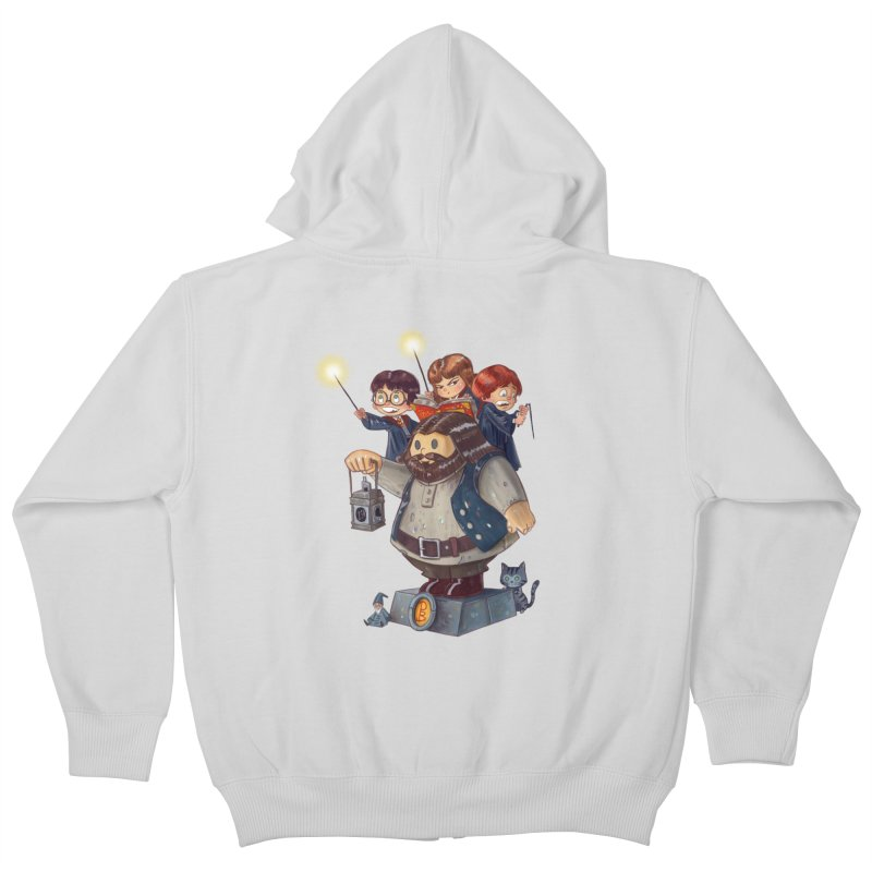 WHO SAID THAT Kids Zip-Up Hoody by Patrick Ballesteros Art Shop