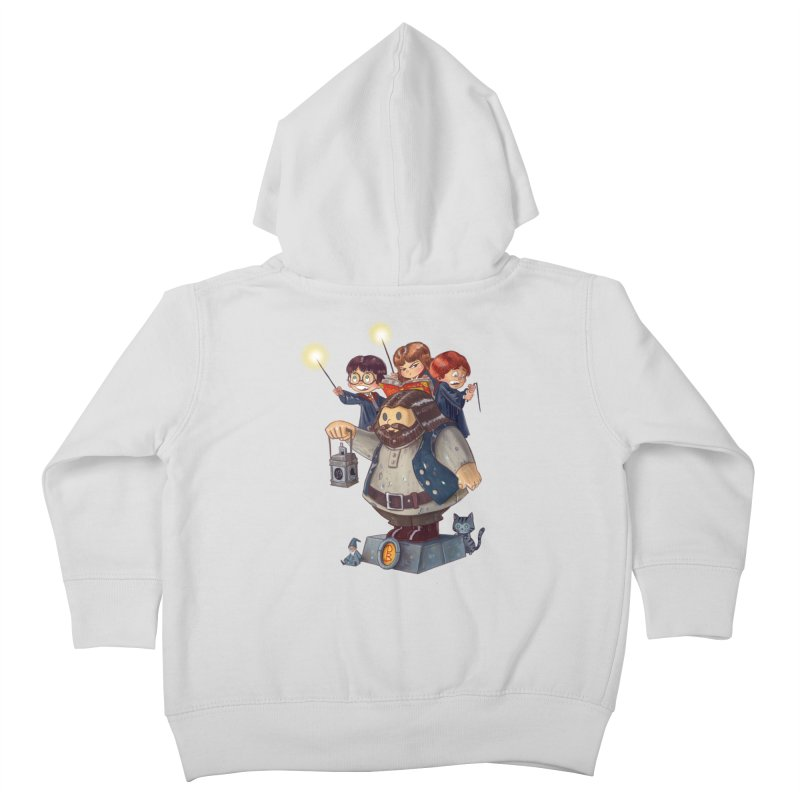 WHO SAID THAT Kids Toddler Zip-Up Hoody by Patrick Ballesteros Art Shop