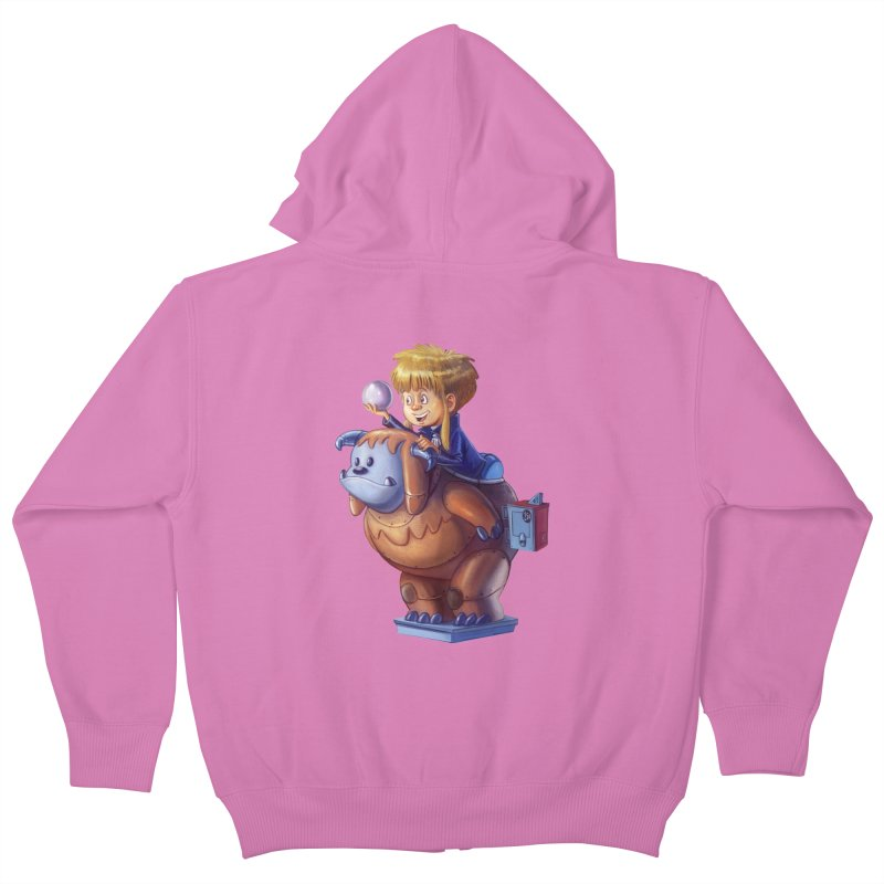 Magic Dance Kids Zip-Up Hoody by Patrick Ballesteros Art Shop