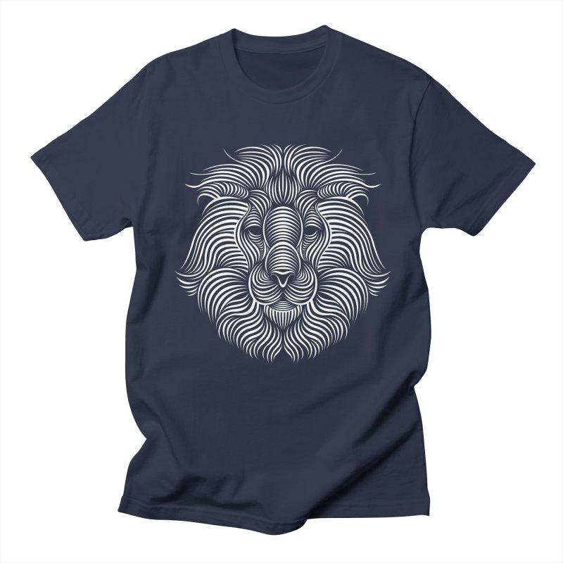 Lion Men's T-Shirt by Patrick seymour