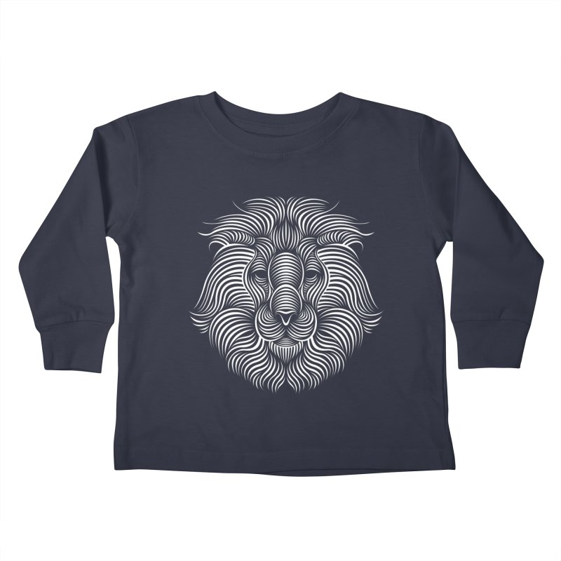 Lion Kids Toddler Longsleeve T-Shirt by Patrick seymour