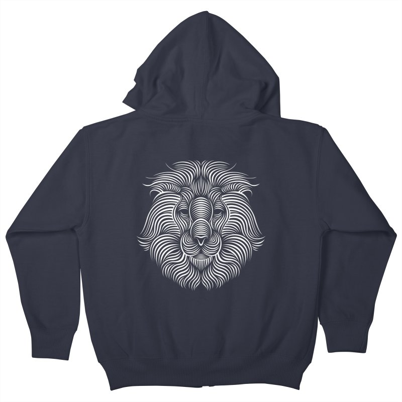 Lion Kids Zip-Up Hoody by Patrick seymour