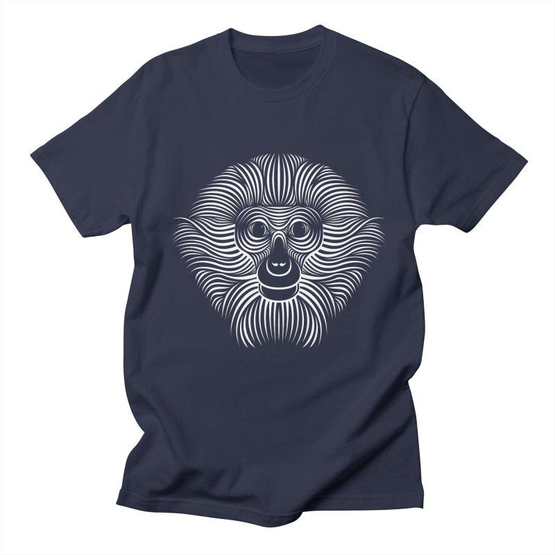 Monkey Men's T-Shirt by Patrick seymour