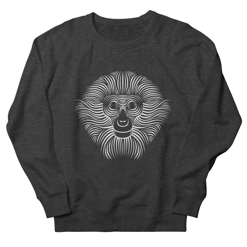 Monkey Men's Sweatshirt by Patrick seymour