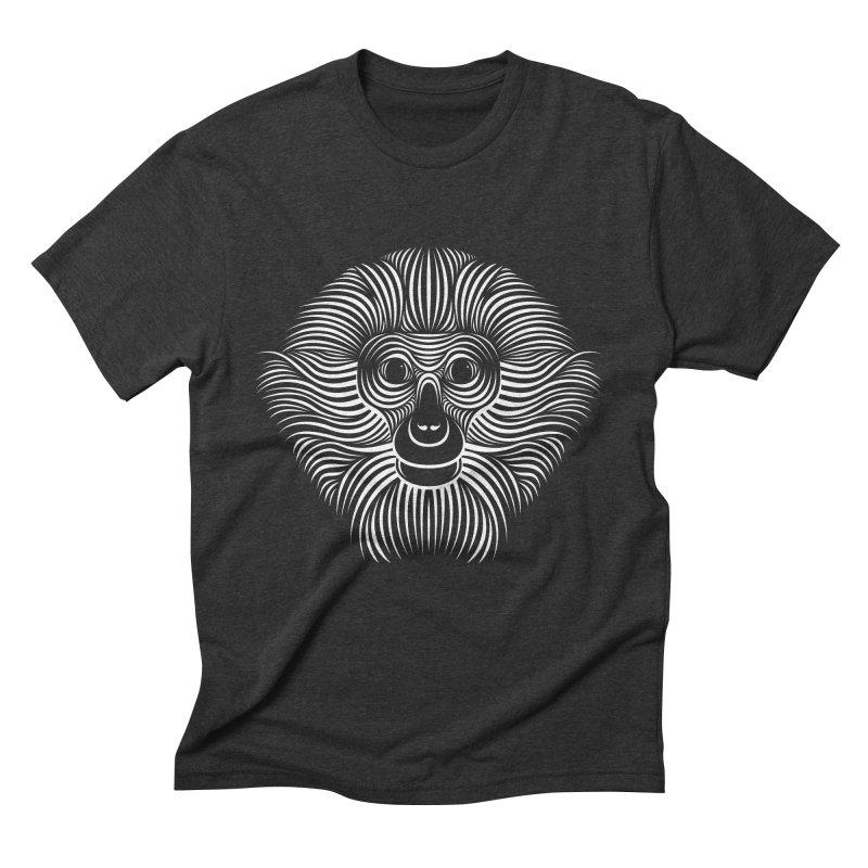 Monkey Men's Triblend T-Shirt by Patrick seymour