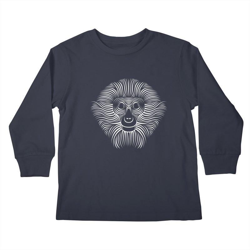 Monkey Kids Longsleeve T-Shirt by Patrick seymour