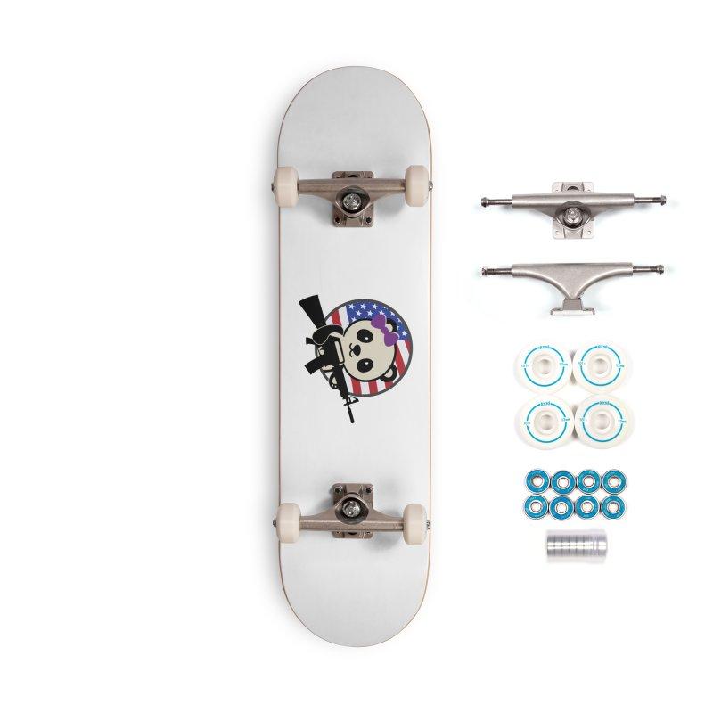 Patriot Panda Accessories Skateboard by patriotpanda's Artist Shop