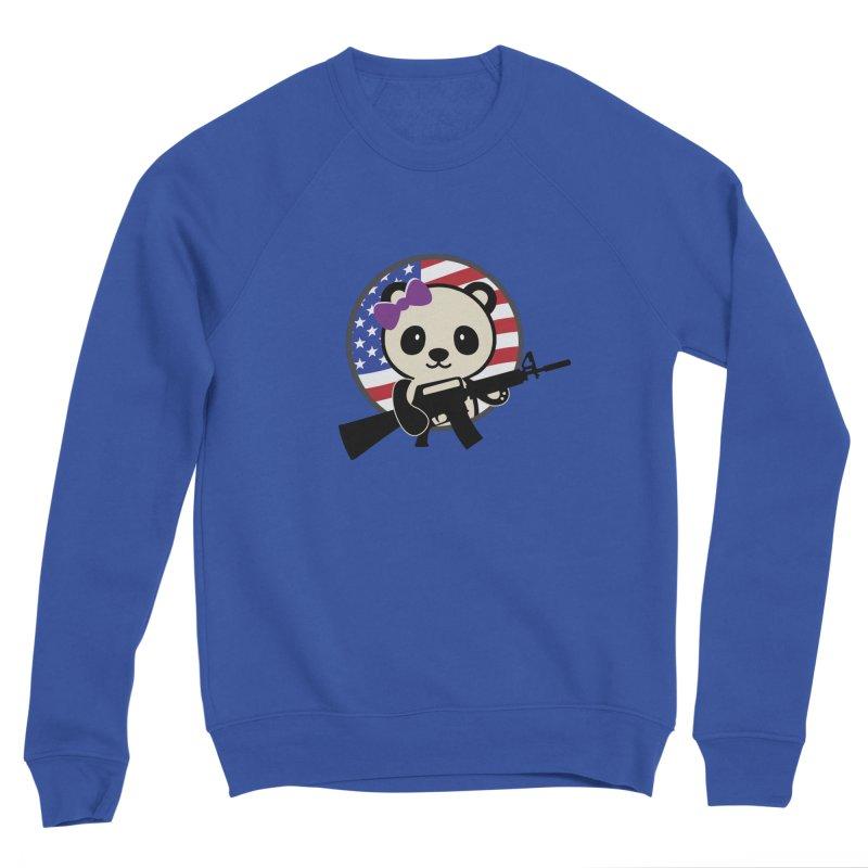 Patriot Panda Women's Sweatshirt by patriotpanda's Artist Shop