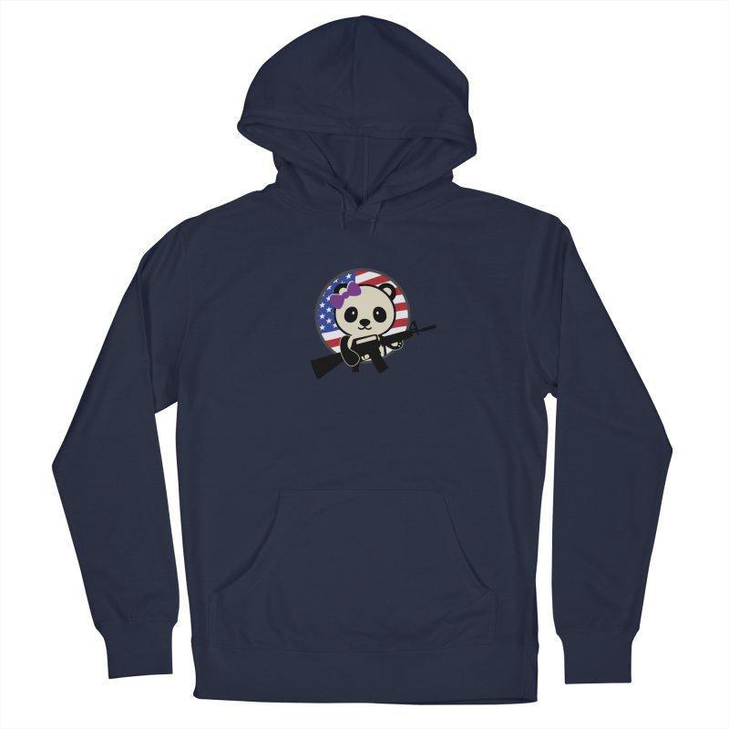 Patriot Panda Men's Pullover Hoody by patriotpanda's Artist Shop