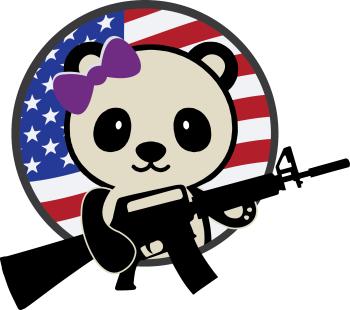 patriotpanda's Artist Shop Logo