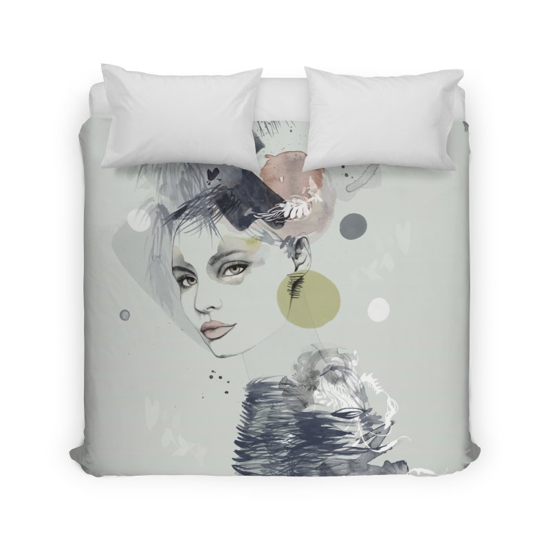 A Walk in the Wilderness Home Duvet by Pattern By Design