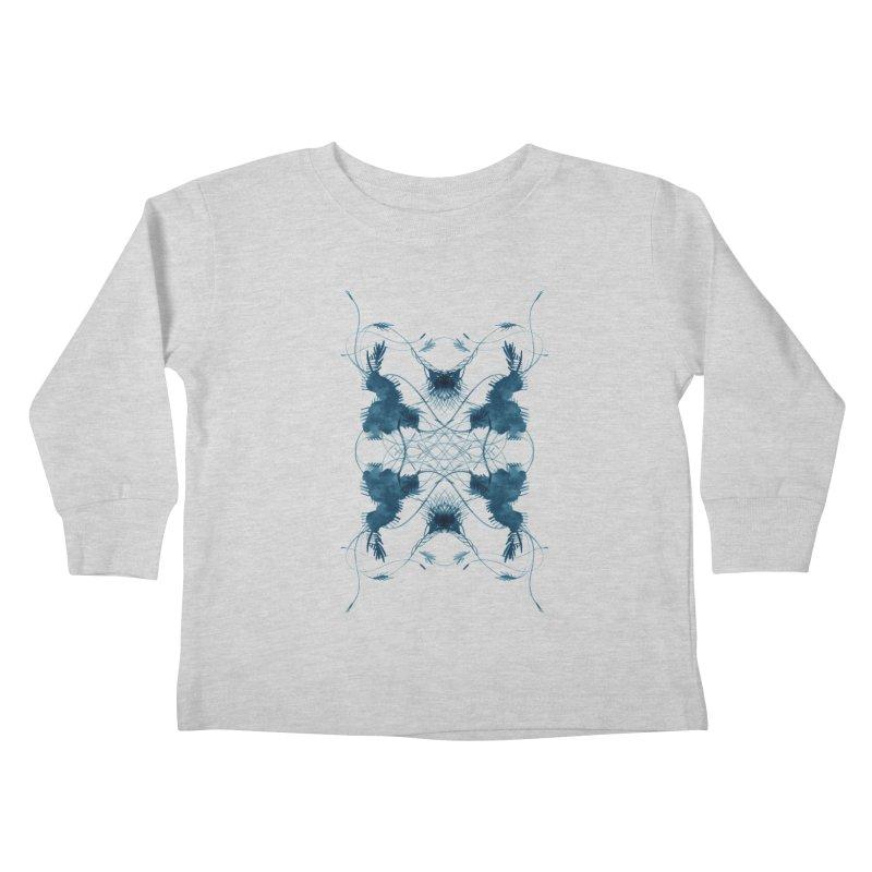 Flip #001 Kids Toddler Longsleeve T-Shirt by Pattern By Design