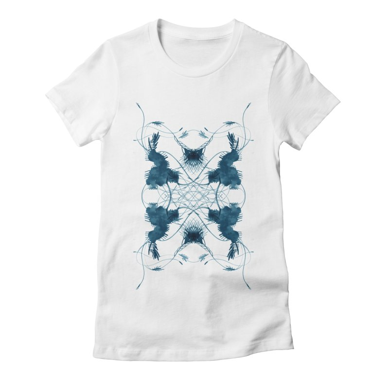 Flip #001 Women's Fitted T-Shirt by Pattern By Design