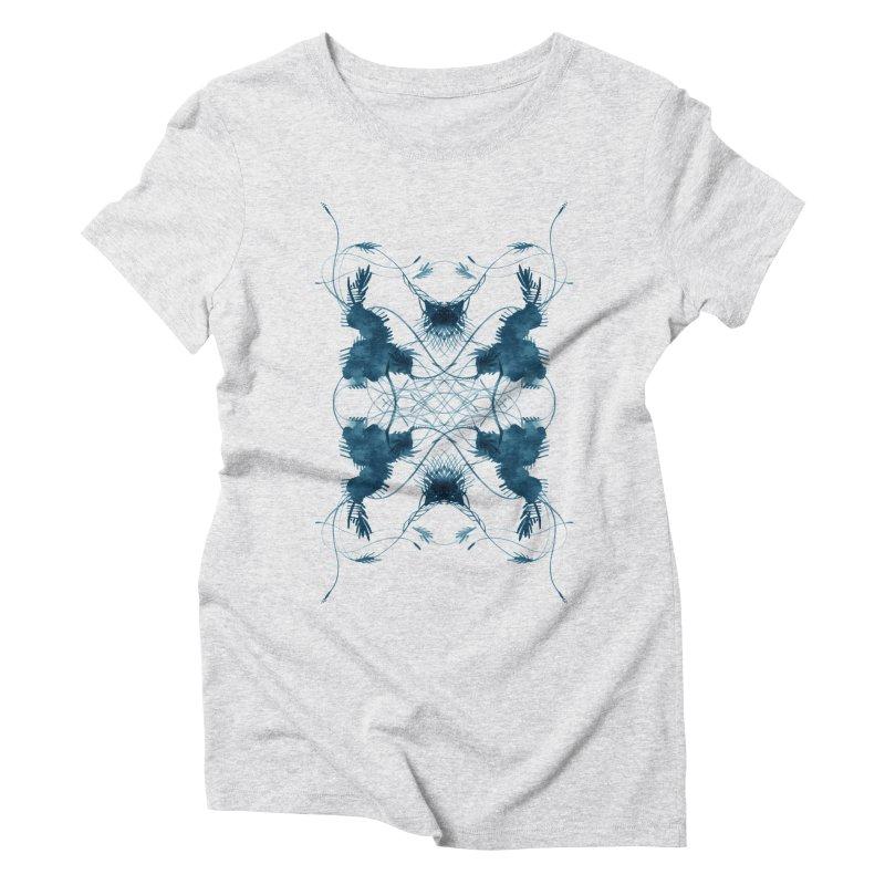 Flip #001 Women's Triblend T-Shirt by Pattern By Design