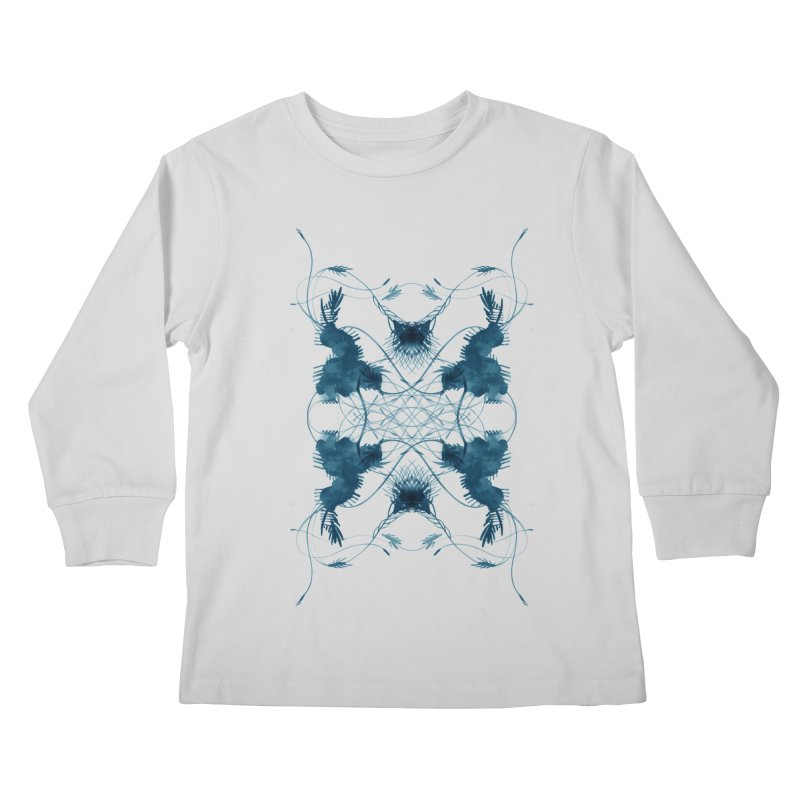 Flip #001 Kids Longsleeve T-Shirt by Pattern By Design