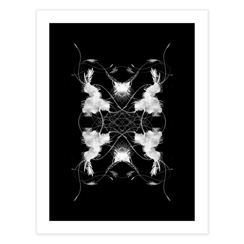 Flip #002 Home Fine Art Print by Pattern By Design