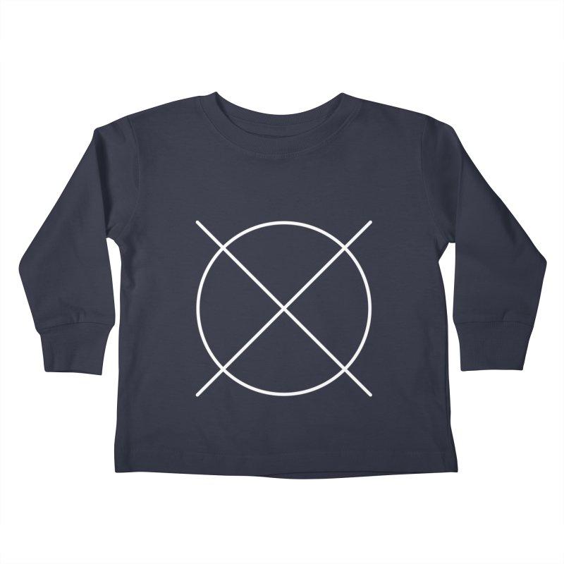Pattern By Design Logo Kids Toddler Longsleeve T-Shirt by Pattern By Design