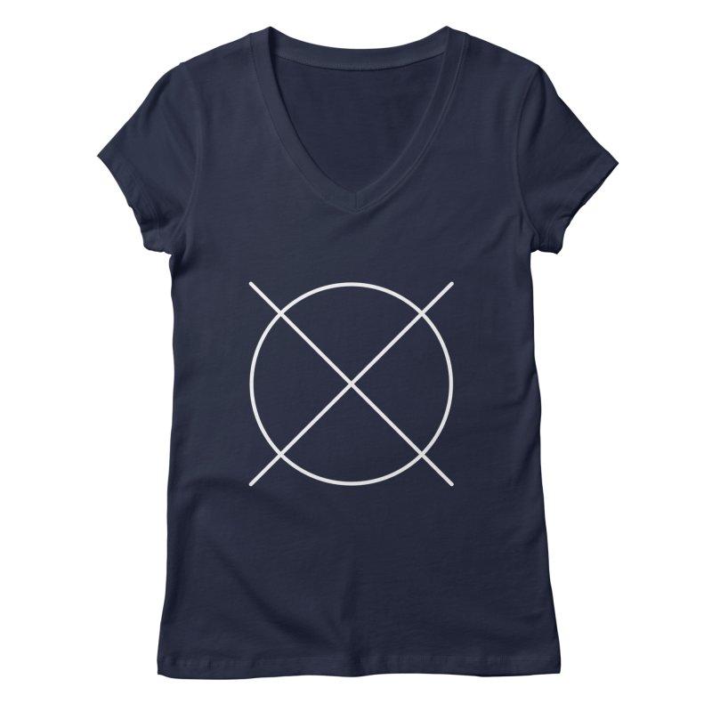 Pattern By Design Logo Women's V-Neck by Pattern By Design