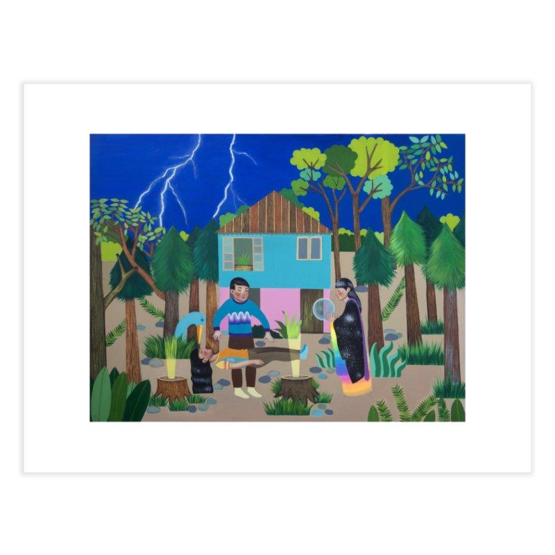 MADADAYO Home Fine Art Print by Paula Duró
