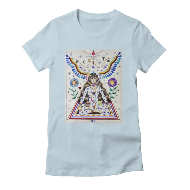 KUNDALINI Women's T-Shirt by Paula Duró