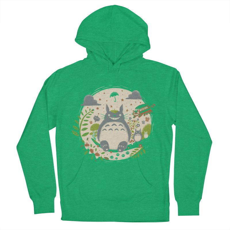 Magical Forest Men's Pullover Hoody by Paula García's Artist Shop