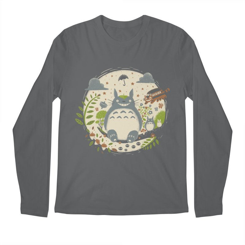 Magical Forest Men's Longsleeve T-Shirt by Paula García's Artist Shop