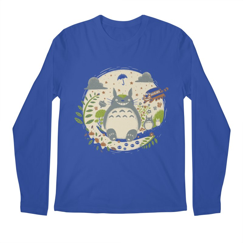 Magical Forest Men's Longsleeve T-Shirt by Paula García's Artist Shop