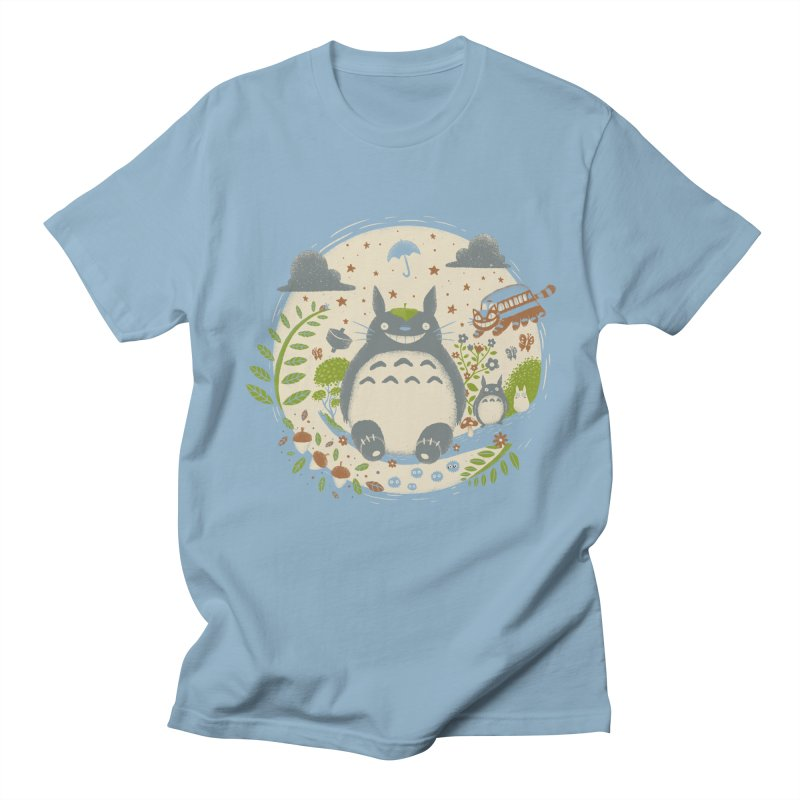 Magical Forest Men's T-Shirt by Paula García's Artist Shop